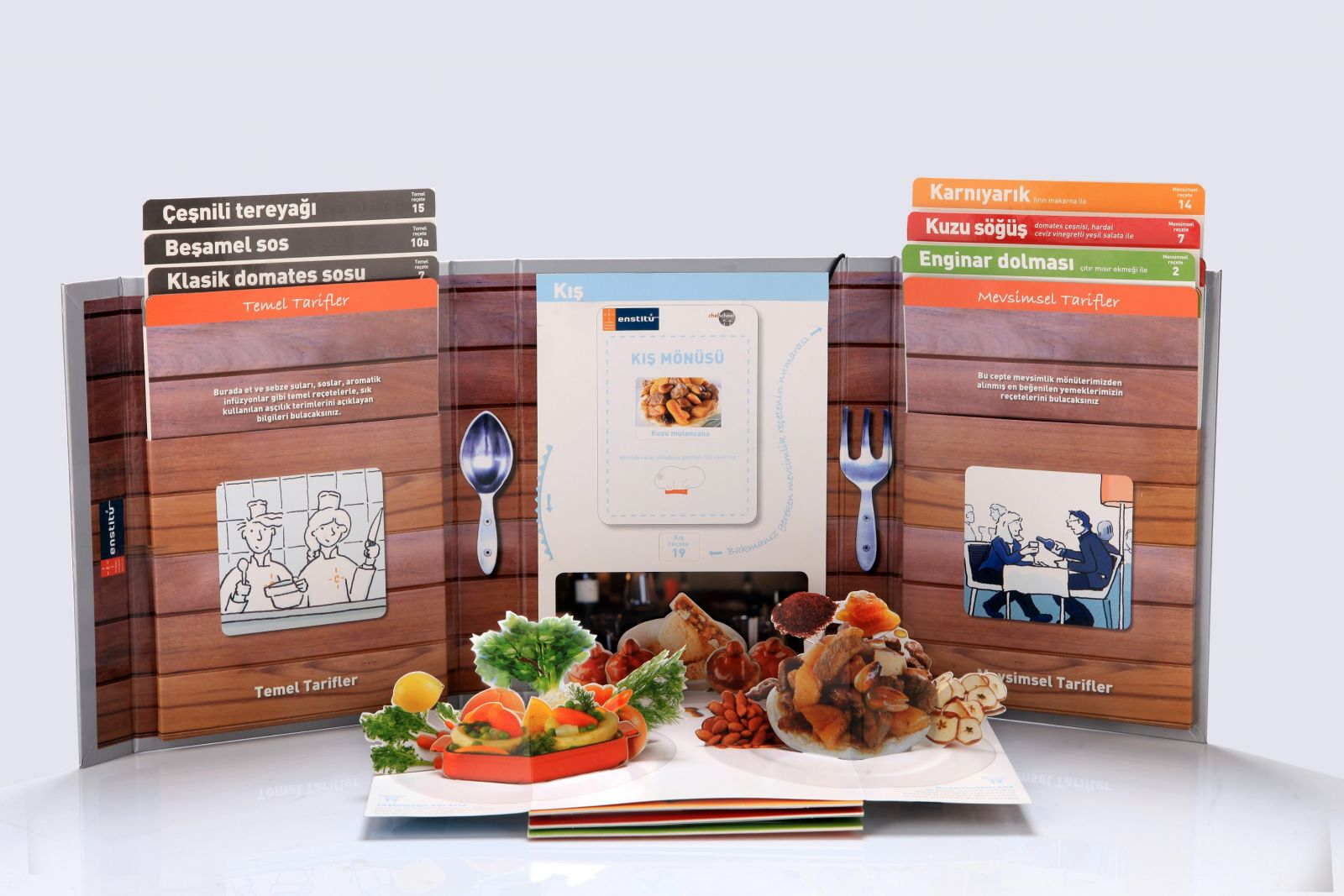 İstanbul Culinary Institute'tan Bir İlk: Pop-Up Cookery Book